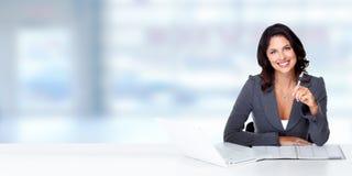 Beautiful business woman. Stock Photography