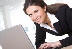 A beautiful businesswoman Stock Photo