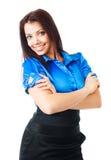 Beautiful businesswoman Stock Images