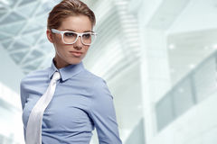 Beautiful businesswoman Stock Photos
