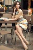 Beautiful businesswoman Royalty Free Stock Image