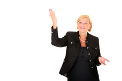 Beautiful businesswoman Royalty Free Stock Photos