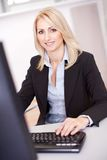 Beautiful businesswoman  Royalty Free Stock Photo