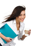Beautiful businesswoman Stock Photography