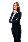 Beautiful businesswoman with arms folded Royalty Free Stock Image