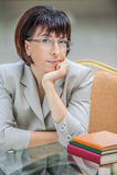 Beautiful businesswoman Royalty Free Stock Photography