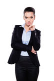 Beautiful businesswoman looking at you Royalty Free Stock Photography