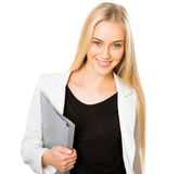 Beautiful businesswoman in an office Stock Photo