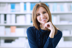 Beautiful businesswoman in the office Stock Photo