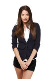 Beautiful businesswoman portrait Stock Photos