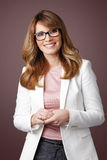 Beautiful businesswoman Royalty Free Stock Photos