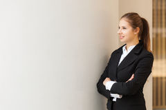 Beautiful businesswoman portrait Royalty Free Stock Photography
