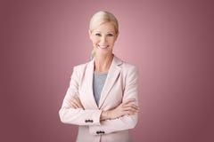 Beautiful businesswoman portrait Stock Photography