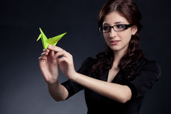 Beautiful businesswoman posing Royalty Free Stock Photography