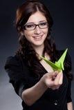 Beautiful businesswoman posing Stock Image