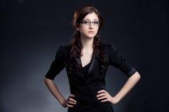 Beautiful businesswoman posing Stock Photo