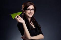 Beautiful businesswoman posing Stock Photography