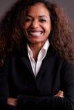 Beautiful businesswoman smiling Royalty Free Stock Photos