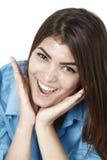 Beautiful  businesswoman smiling Stock Photos