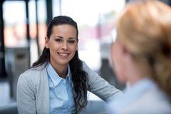 Beautiful businesswoman smiling Stock Photography