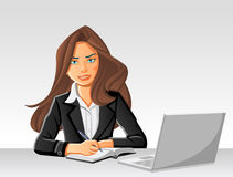 Beautiful businesswoman Royalty Free Stock Images