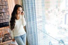 Businesswoman using phone Royalty Free Stock Photo