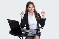 Beautiful  businesswoman working concept Stock Photography