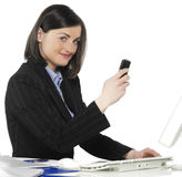 Beautiful businesswomen Stock Photography