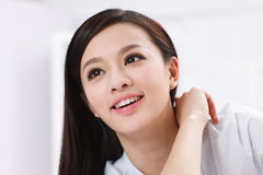 A beautiful businnes woman Royalty Free Stock Images