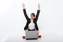 Beautiful bussineswoman Stock Photography