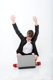 Beautiful bussineswoman Stock Photos