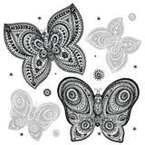Beautiful butterflies Stock Images