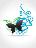 Beautiful butterfly  art Royalty Free Stock Photo