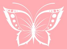 Beautiful butterfly for a design Stock Images