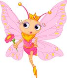 Beautiful Butterfly princess Stock Image
