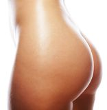 Beautiful buttocks of a nude woman. Stock Photography