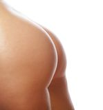 Beautiful buttocks of a nude woman. Stock Photo