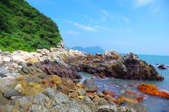 beautiful byland of seaside Stock Photography