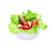 Beautiful caesar salad. Stock Photography