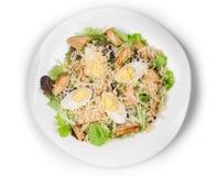 Beautiful caesar salad. Stock Images