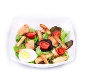 Beautiful caesar salad. Stock Photos