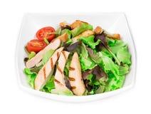 Beautiful caesar salad. Royalty Free Stock Photos