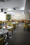 Beautiful cafe in Plaza sanatorium Royalty Free Stock Photos
