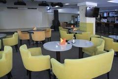 Beautiful cafe in Plaza sanatorium Stock Image