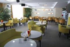 Beautiful cafe in Plaza sanatorium Royalty Free Stock Images