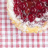 Beautiful cake with berries Stock Photography