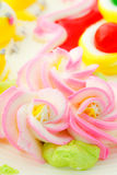 Beautiful cake decoration Royalty Free Stock Images