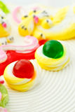 Beautiful cake decoration Stock Photo