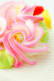 Beautiful cake decoration Royalty Free Stock Image