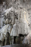 Beautiful Calcite Cave formations Stock Photo